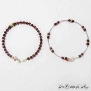 3 for $15 - Garnet Bracelets